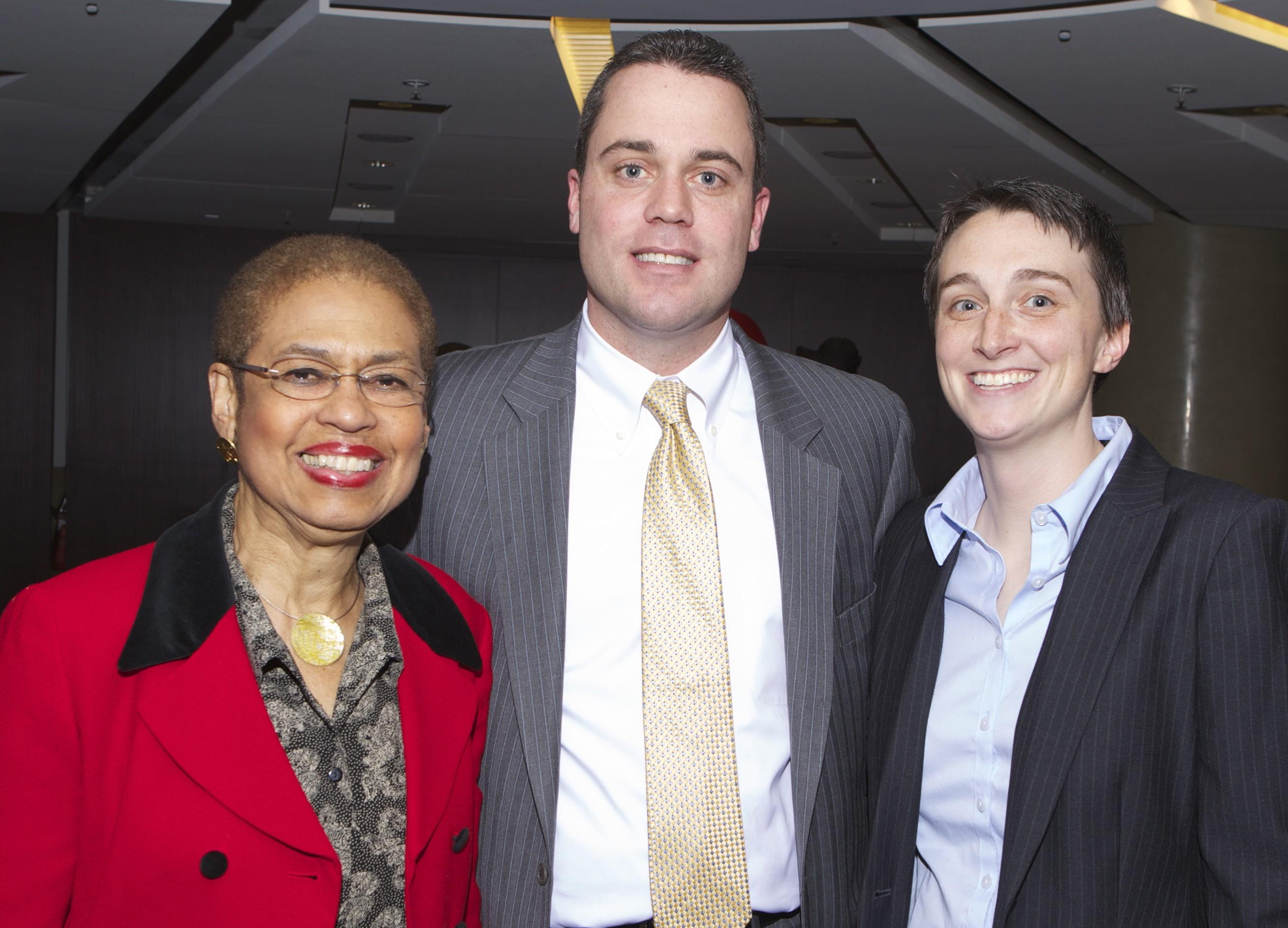 Congresswoman Norton, J Holmes, H Laing
