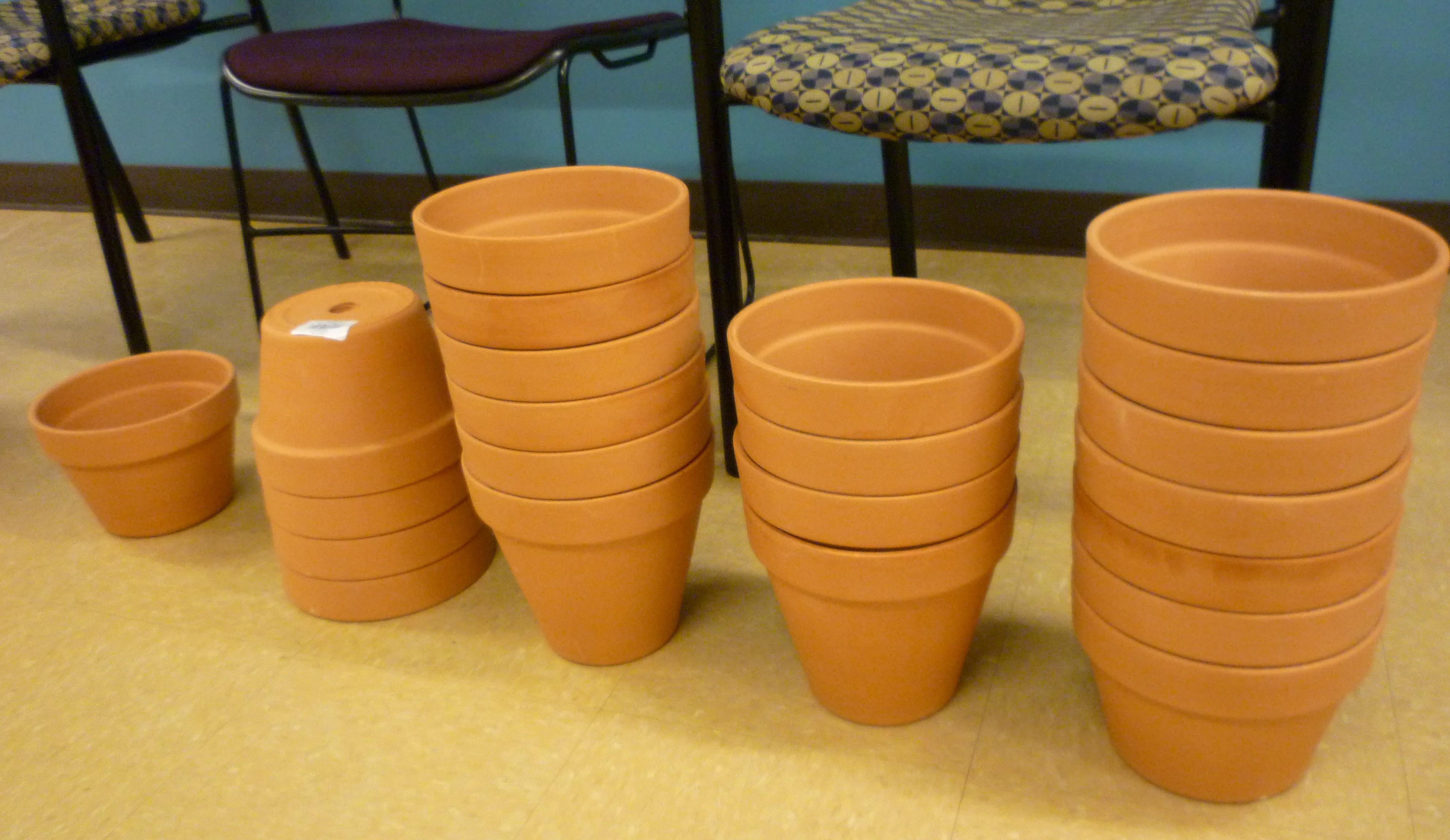 naked pots