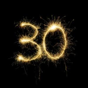 30 sparkler