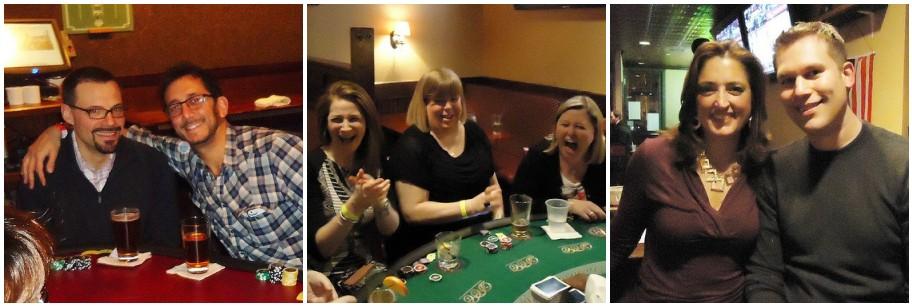 poker night collage