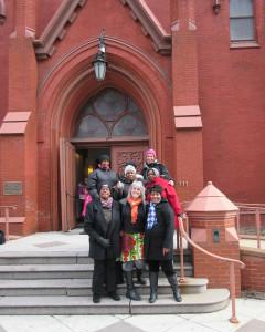 group at Calvary Baptist