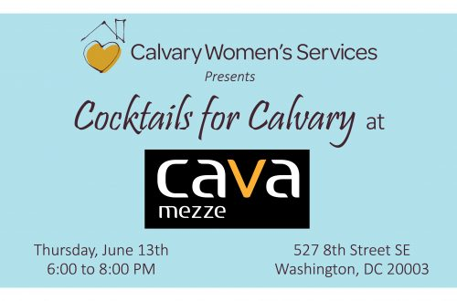 Cocktails for Calvary - Summer Soiree